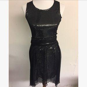 NWT Mystree black cocktail dress